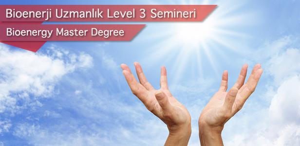 İstanbul Aydın Üniversitesi Bioenerji Uzmanlık Level III Eğitimi 27 - 28 Şubat 2021